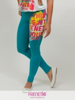 Benetton green leggings.