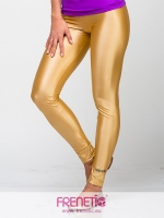 Gold retro leggings